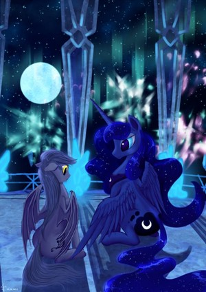 Princess Luna and her Royal Guard