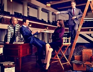 """The Good Wife"": EW photoshoots"