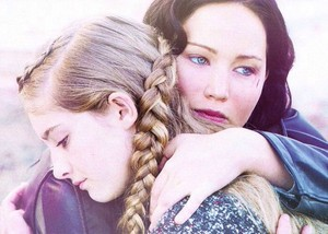 Prim and Katniss