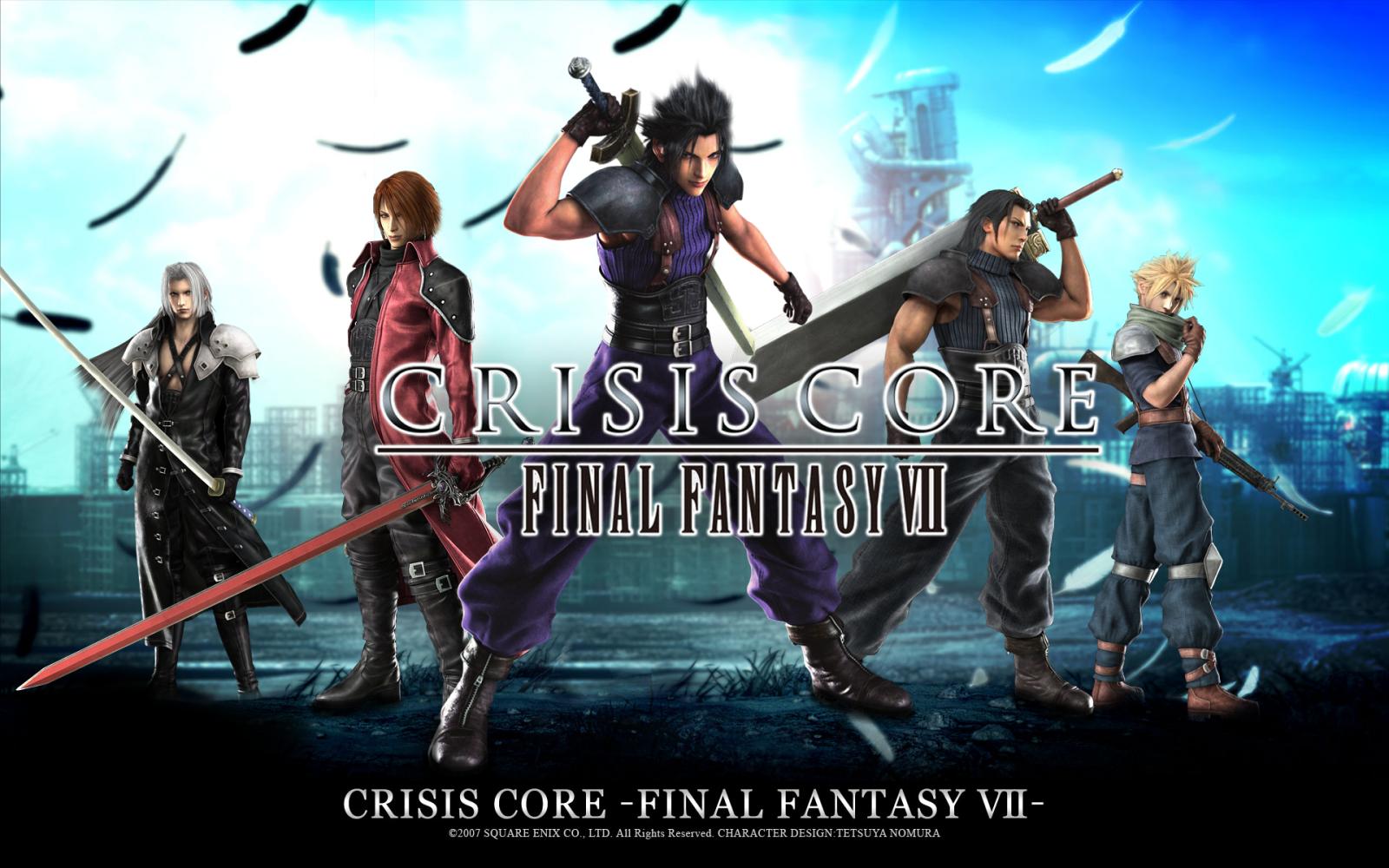 Crisis Core Crisis Core Final ファンタジー Vii 壁紙 36451277