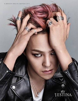 G-Dragon for 'J.Estina's men's jewelry line 'UOMO'