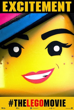 The Lego Movie - Wyldstyle Poster 'EXCITEMENT'