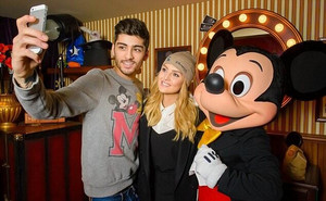 Zerrie at Disneyland
