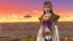 Princess Zelda in Super Smash Bros. 4