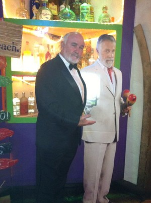 Bond the original most interesting man in the World meets the Dos Equis guy