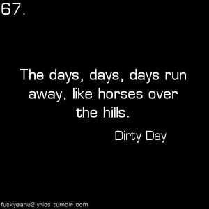 U2 - Dirty Day