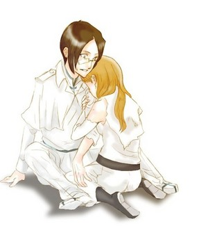 Uryu and Orihime