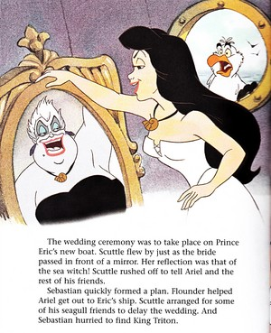 Walt Disney Book Images - Ursula, Vanessa & Scuttle