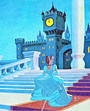 Walt Disney Book Images - Princess Cinderella