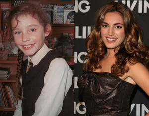 Kelly Brooke - Then and Now