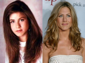 Jennifer Aniston - Then and Now