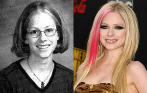 Avril Lavigne - Then and Now