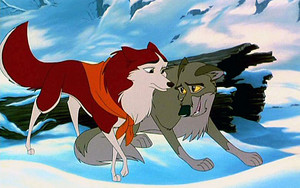 Balto and his love Jenna