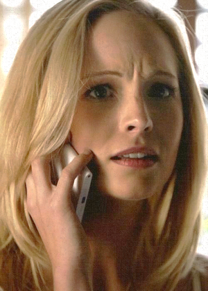 Caroline Forbes in 5.12 the devil inside