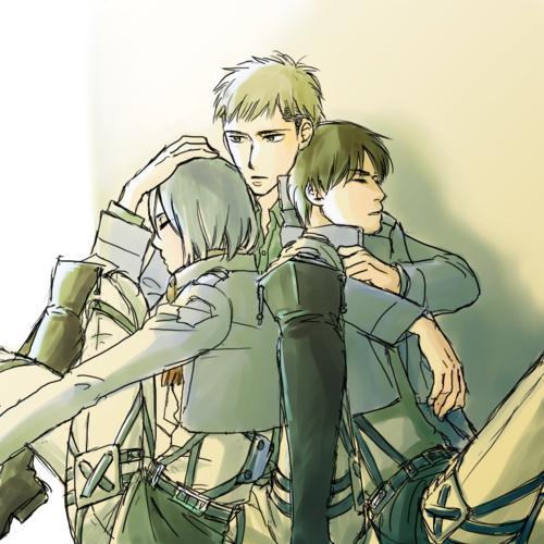 Mikasa Jean Eren Jean Kirschtein Attack On Titan À¤ª À¤°à¤¶ À¤¸à¤• Art 36513063 À¤« À¤¨ À¤ª À¤ª Page 5