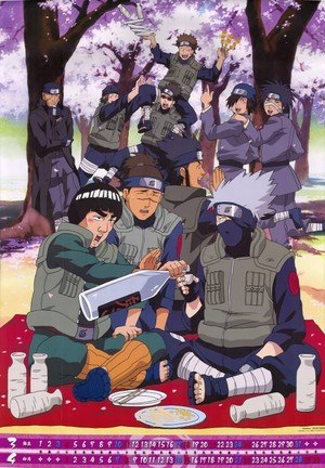 Kakashi Hatake, Gaï and Iruka (and Other Shinobis)