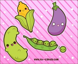 Kawaii Veggies/fruits