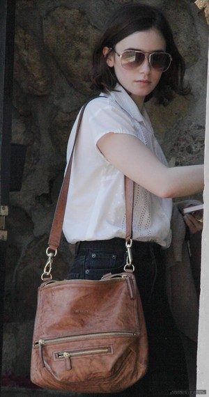 Lily out in Hollywood - January 17th