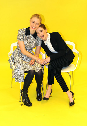 Lucy Fry and Zoey Deutch