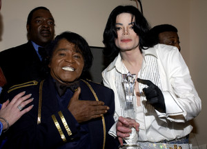 Michael and James Brown BET awards 2003