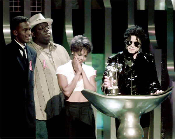 "1995 ""MTV"" Video música Awards"