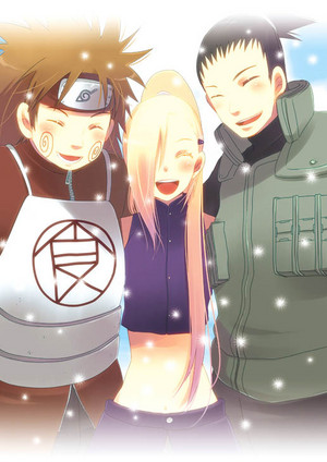 Choji, Ino and Shikamaru