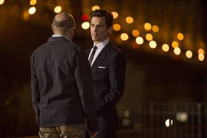 Neal Caffrey and Mozzie
