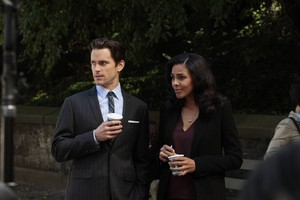 Neal Caffrey and Diana
