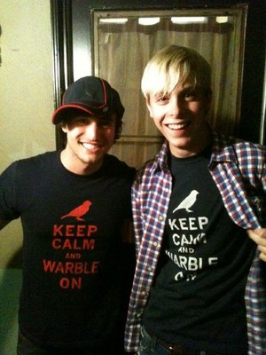 Riker Lynch and Curt Mega