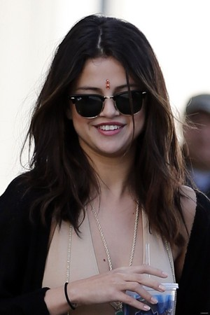 Selena out in LA - January 23rd