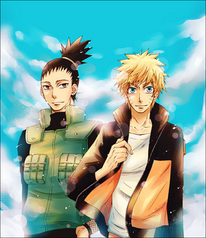 Sikamaru and Naruto