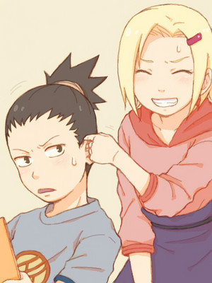 Shikamaru Nara and Ino