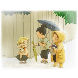 Shikamaru, Choji and Ino