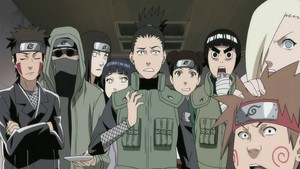 Shikamaru and other shinobis