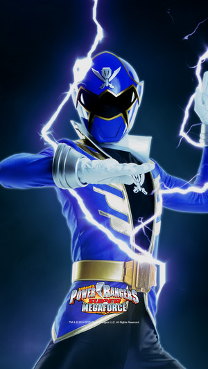 Blue Super Megaforce Ranger