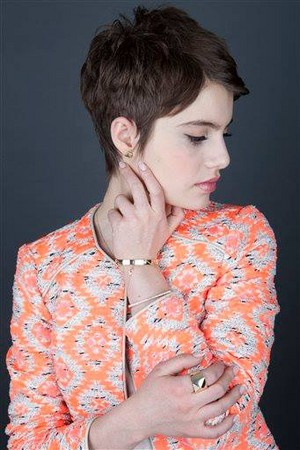 Sami Gayle Vampire Academy Press Day in NYC