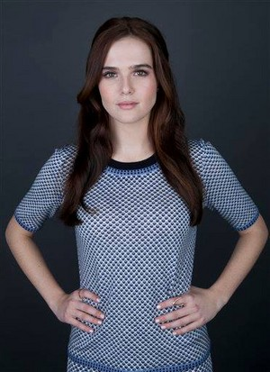 Zoey Deutch Vampire Academy Press Day in NYC
