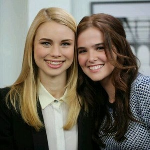 Zoey and Lucy Fry