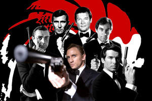 all james bonds