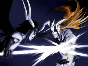 Ulquiorra and Ichigo