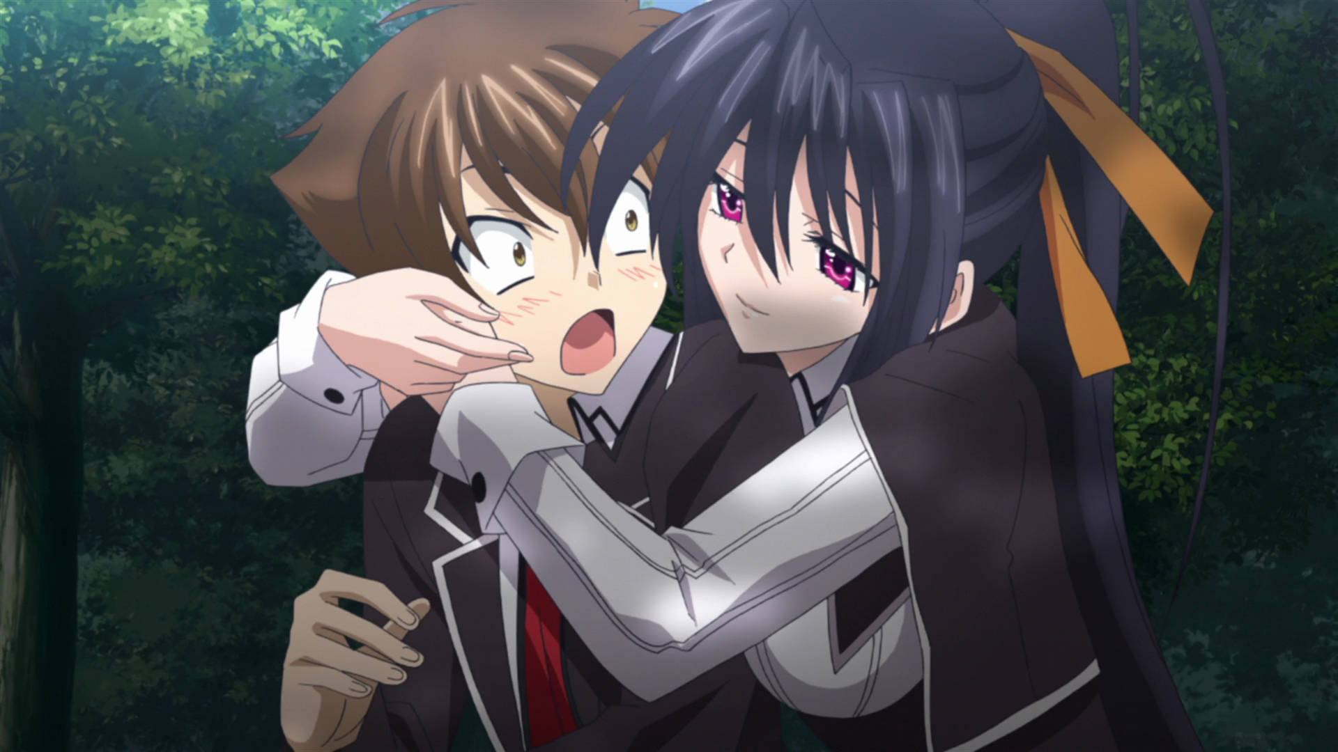 Akeno and Issei