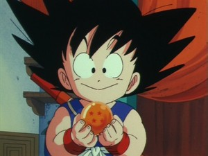 Goku with Dragon Ball