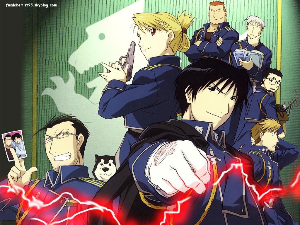 Fullmetal Alchemist Fullmetal Alchemist Brotherhood Anime