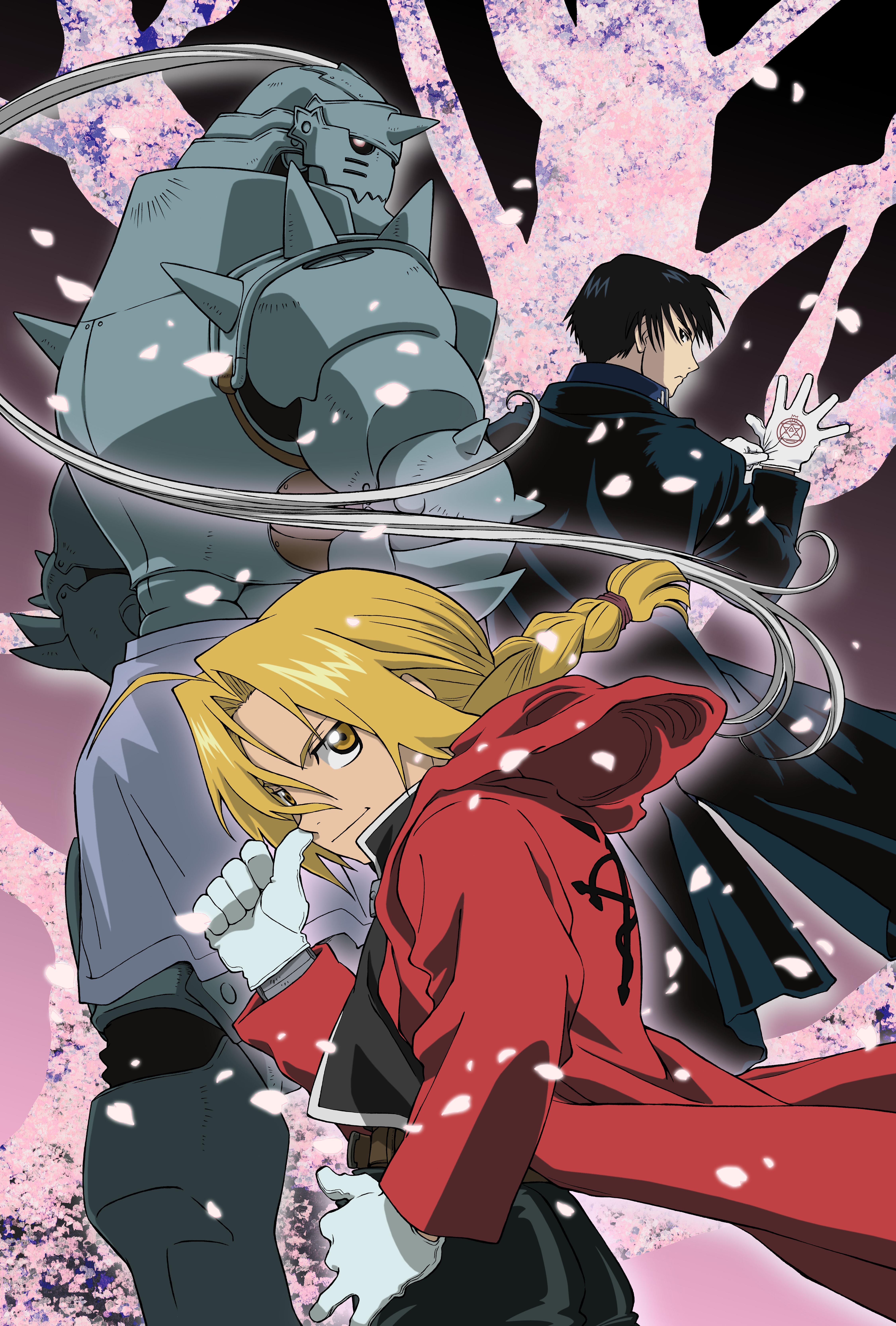 Ed, Al and Roy - Fullmetal Alchemist: Brotherhood - Anime ...