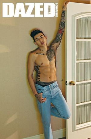 geai, jay Park for 'Dazed and Confused'