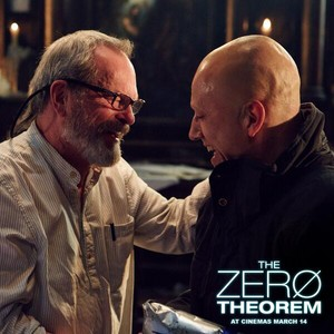Terry Gilliam and Christoph Waltz