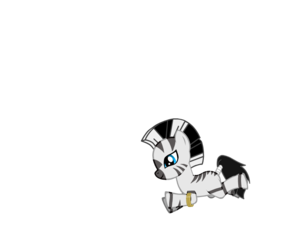 Zecora as a filly
