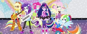 Equestria Girls: радуга Rocks