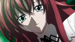 Rias Crying