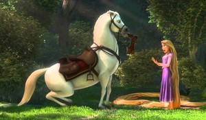 Rapunzel and Maximus